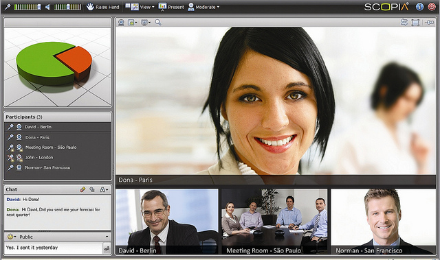 Avaya Scopia Video Conferencing solution for Business