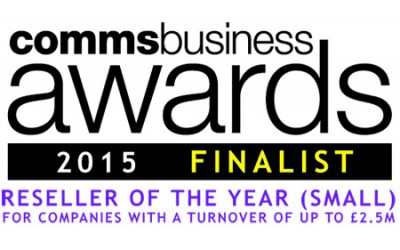 Solution IP are finalists in the Comms Business Awards 2015