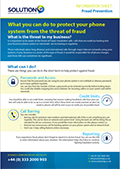Fraud Prevention Information Sheet