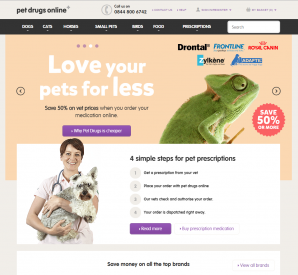 Pet Drugs Online Screenshot