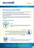SIP Trunk Fact Sheet