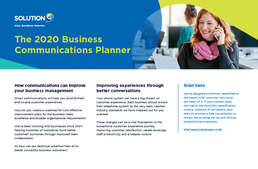 Business Comms Planner